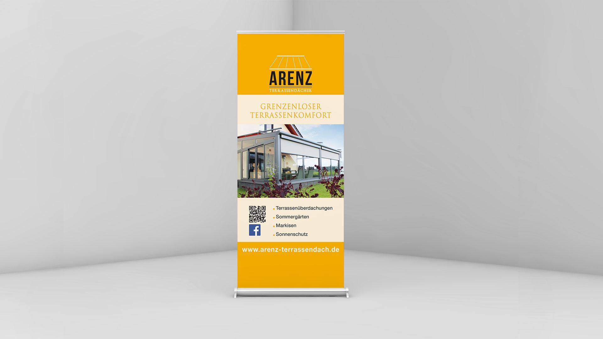 Banner Arenz Terassendaecher