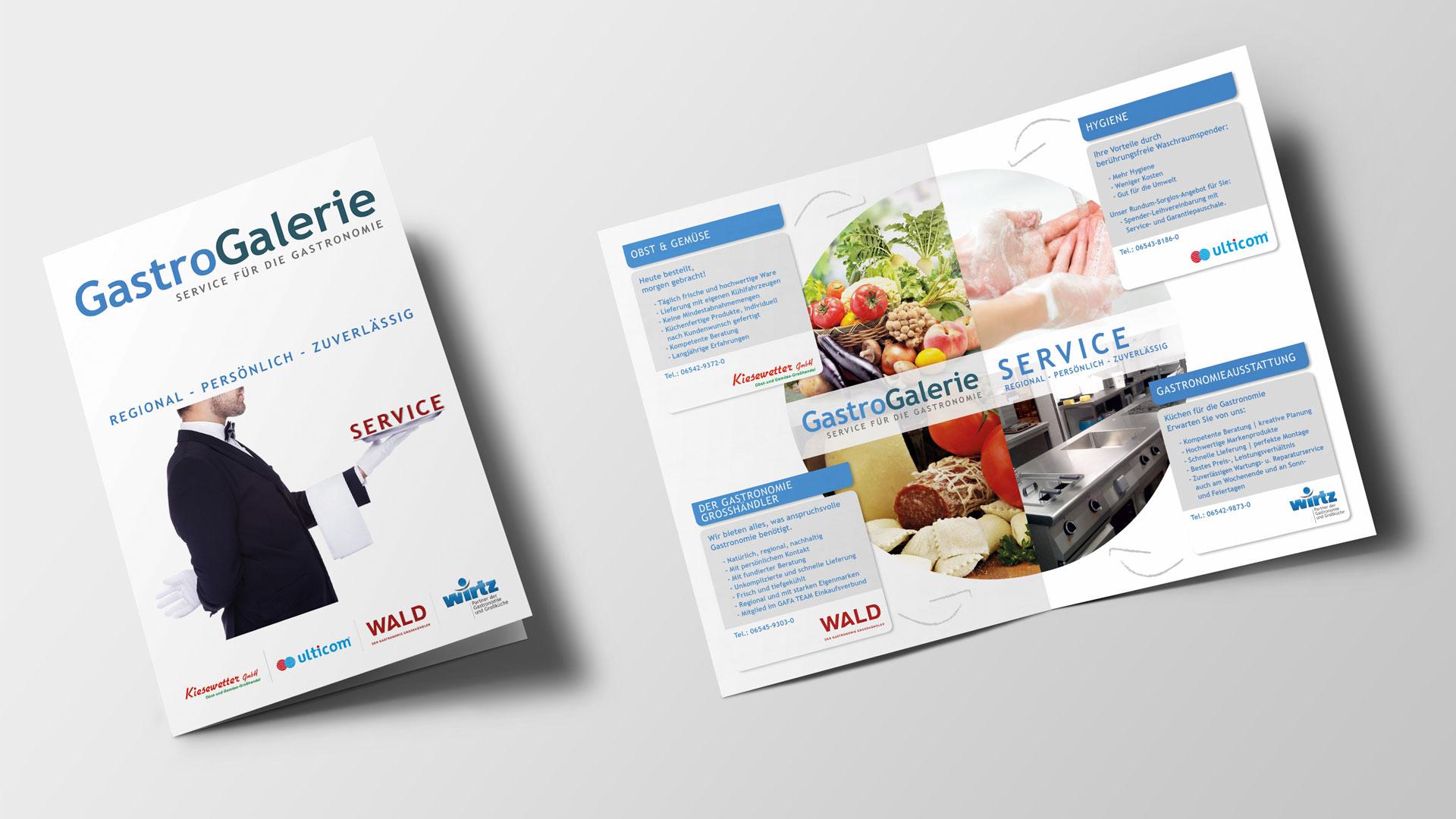 Broschuere GastroGalerie