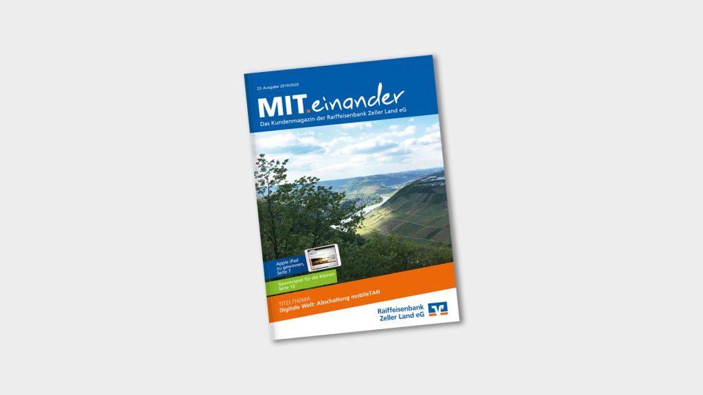 Magazin MIT.einander Raiffeisenbank Zeller Land eG